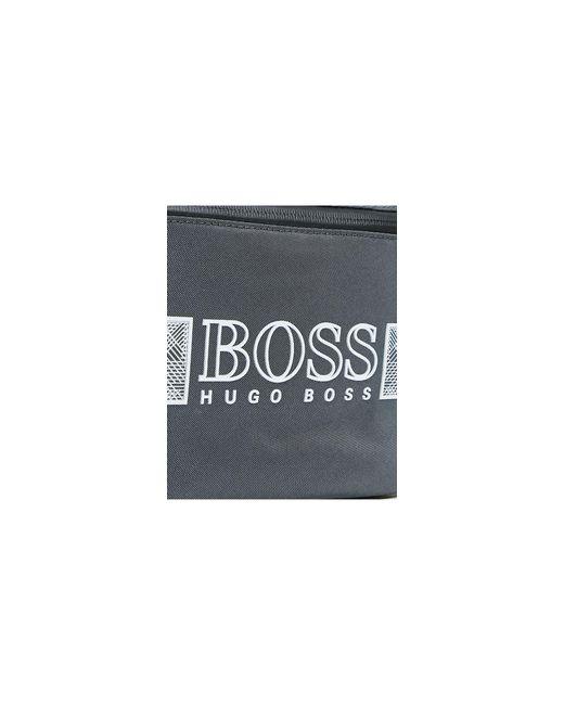 Серая Сумка-кошелек На Пояс С Логотипом -серый BOSS by Hugo Boss для него, цвет: Gray