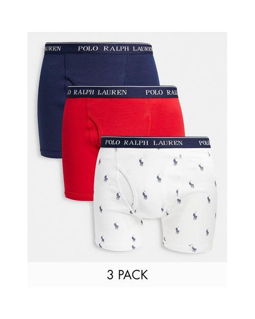 Polo Ralph Lauren Multicolor 3 Pack Trunks for men