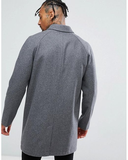 new styles where can i buy great prices Wool Mix Trench Coat In Light Gray