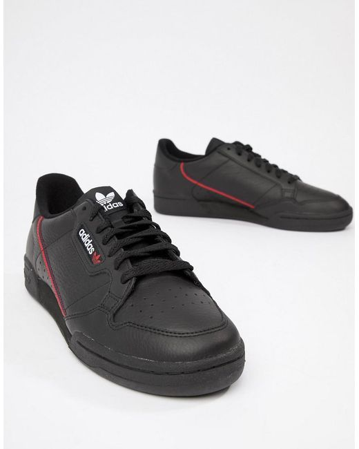 size 40 0a48b 0c3b1 Men's Continental 80's Trainers In Black