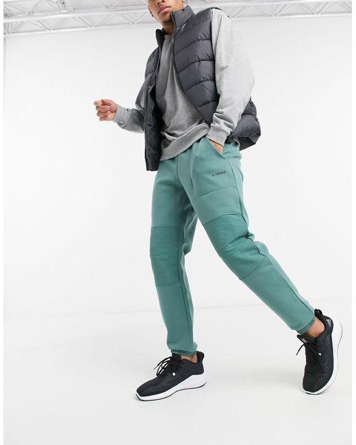 Зеленые Джоггеры -зеленый Цвет Adidas для него, цвет: Green