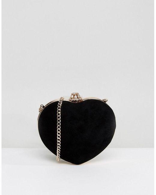 Dune | Heart Bag In Black | Lyst
