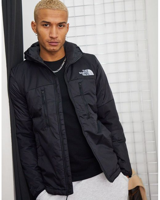 Легкая Синтетическая Черная Куртка С Капюшоном Himalayan-черный The North Face для него, цвет: Black