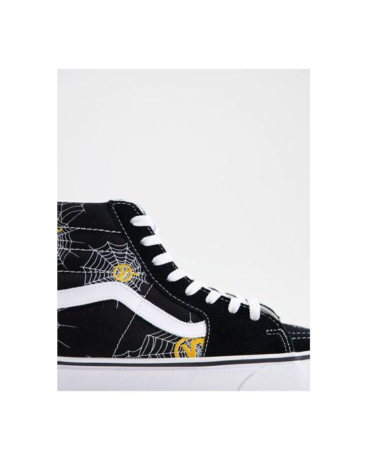 Sk8-Hi - Sneakers alte nere da Uomo di Vans in Nero - Lyst
