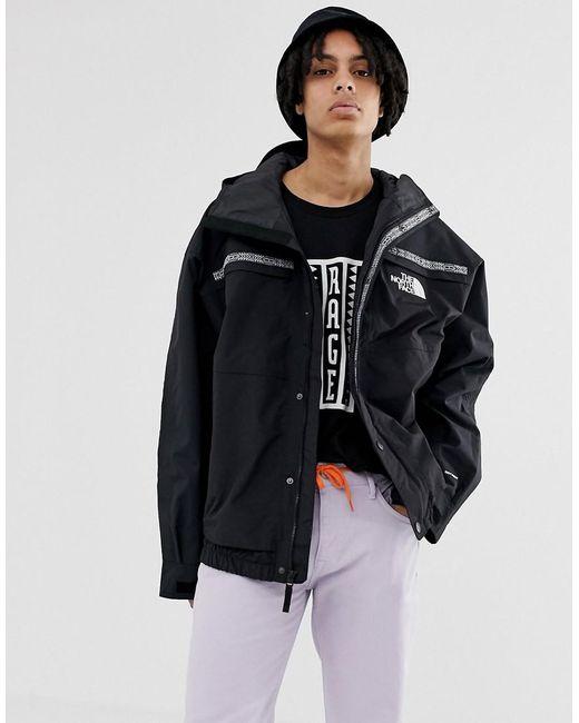 The North Face 92 Retro Rage Rain Jacket In Black for men