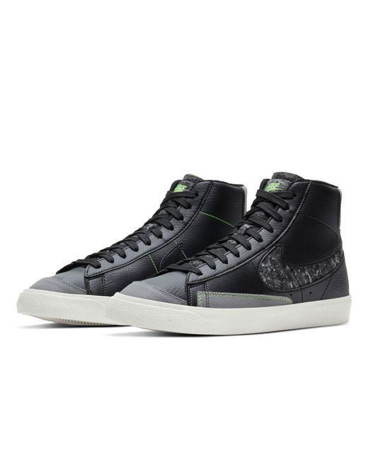 Черные Кроссовки Blazer Mid '77 Vntg Revival-черный Цвет Nike для него, цвет: Black