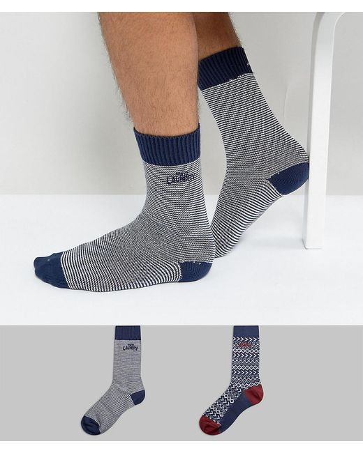 Tokyo Laundry - Blue Trunk Socks Gift Box for Men - Lyst