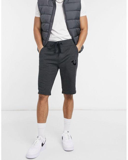 Шорты Для Спорта И Активного Отдыха С Логотипом -серый True Religion для него, цвет: Gray