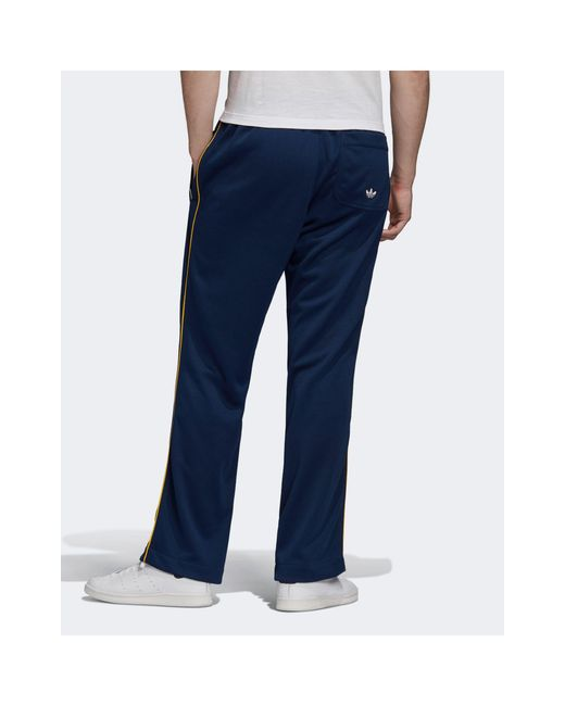 Темно-синие Джоггеры Premium Samstag-белый Adidas Originals для него, цвет: Blue