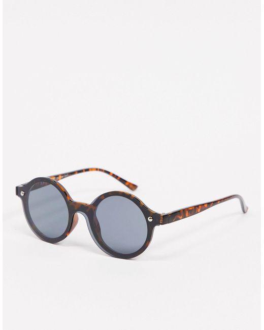 Коричневые Круглые Солнцезащитные Очки Без Оправы -коричневый Цвет A.J. Morgan, цвет: Brown