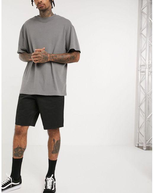 Short chino décontracté style skateur ASOS pour homme en coloris Black