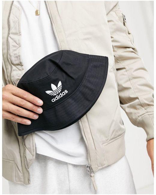 Черная Панама -черный Adidas Originals для него, цвет: Black