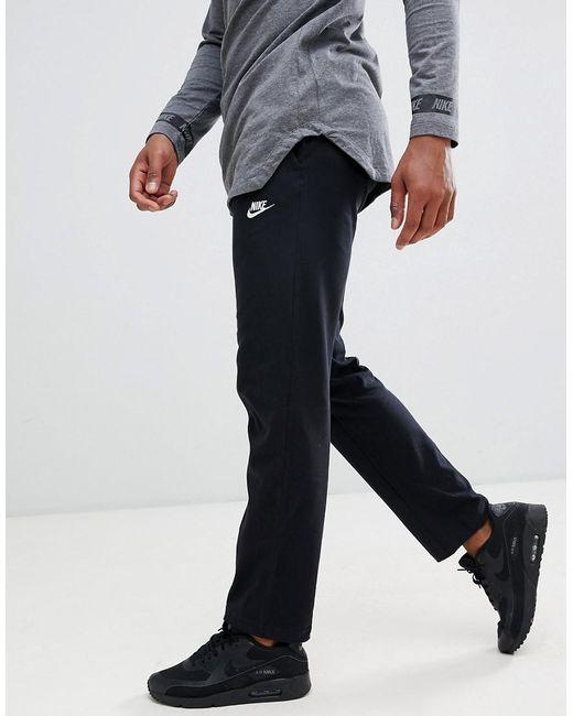 Jogging Et Virgule Nike Lyst Avec Logo De Ourlet Pantalon Ouvert 1EXPqwTY