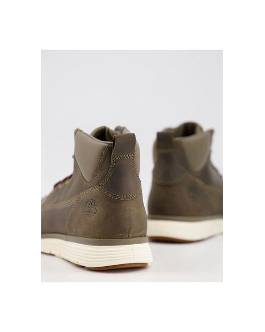 timberland kaki chaussures hommes