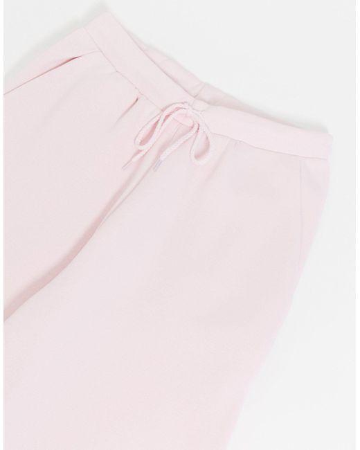 Розовые Oversized-джоггеры От Комплекта ASOS, цвет: Pink