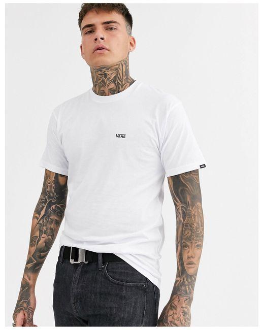 Белая Футболка С Логотипом -белый Vans для него, цвет: White