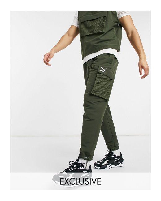 Avenir - Pantalon cargo à logo - Kaki - Exclusivité ASOS ...