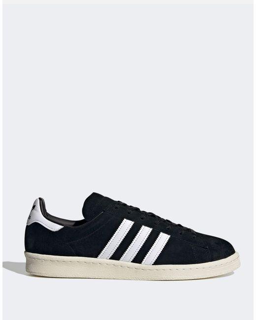 Adidas Originals Black Campus Sneakers