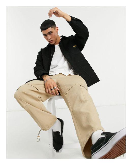 Черная Куртка В Рабочем Стиле -черный Stan Ray для него, цвет: Black