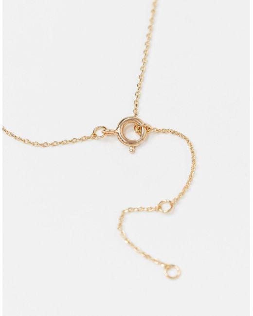 Золотистое Ожерелье Со Сменными Подвесками ASOS, цвет: Multicolor