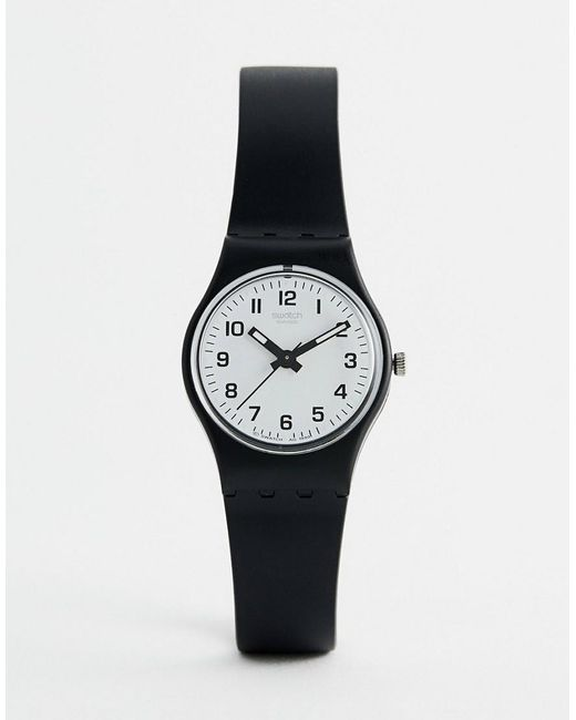 LB153 Original Something New - Montre 25 mm - Noir Swatch pour homme en coloris Black