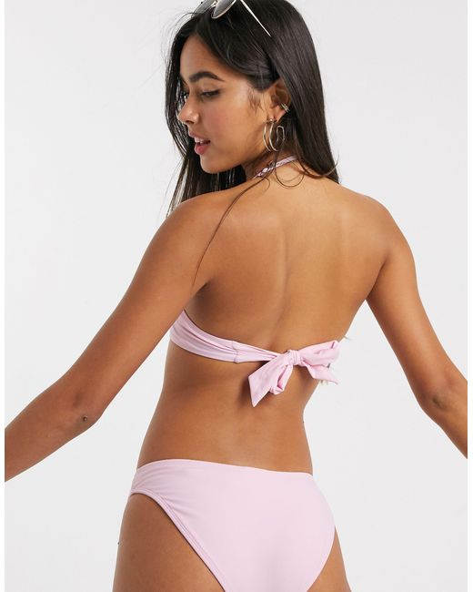 River Island Pink Bikini Bottom