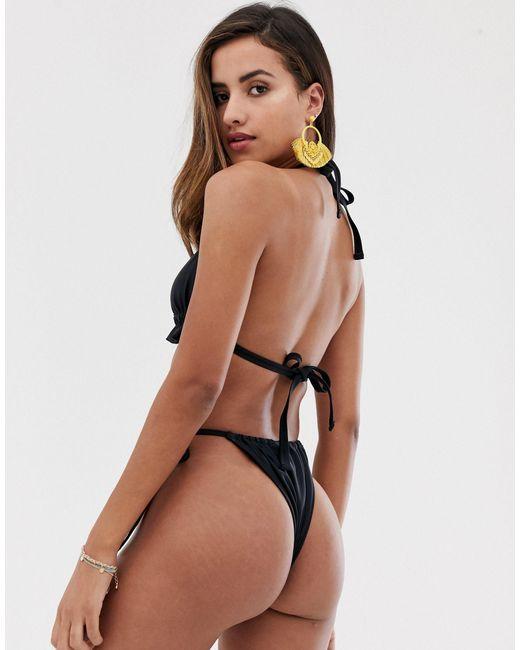 Черные Плавки-бикини Recycled-черный South Beach, цвет: Black