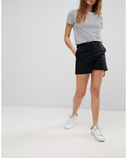 ASOS Black Asos Design Tall Chino Shorts