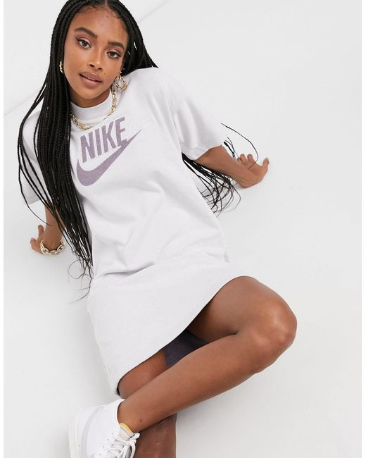 Nike Gray Move To Zero Sweatshirt Dress