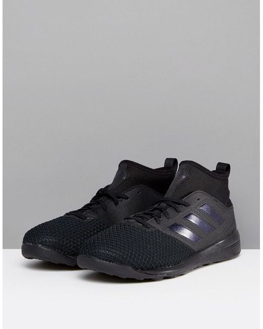 lyst adidas football ace tango formatori in nero cg2752 in nero