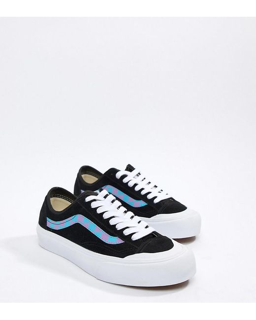 63e6c4f91b Vans Style 36 Trainers In Black Exclusive At Asos in Black for Men ...