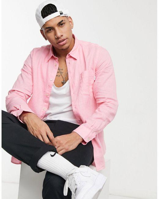 Paul Smith – Elegantes langärmliges Hemd in Pink für Herren
