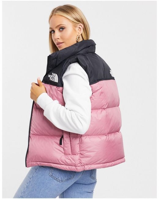 The North Face Nuptse - Cropped Jack in het Multicolor