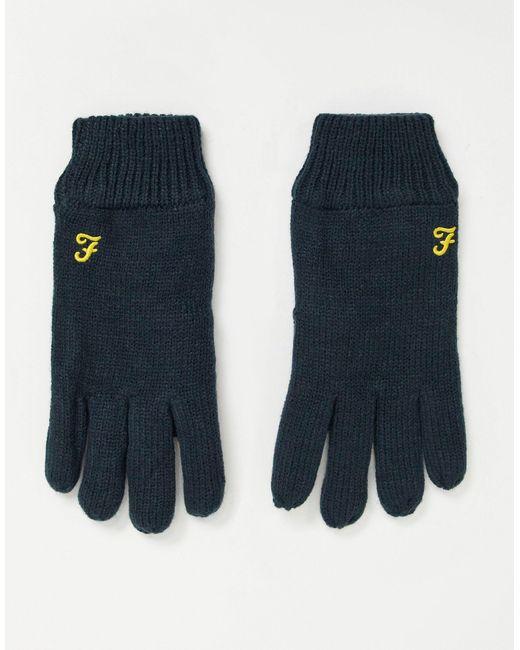 Перчатки С Логотипом -темно-синий Farah для него, цвет: Blue