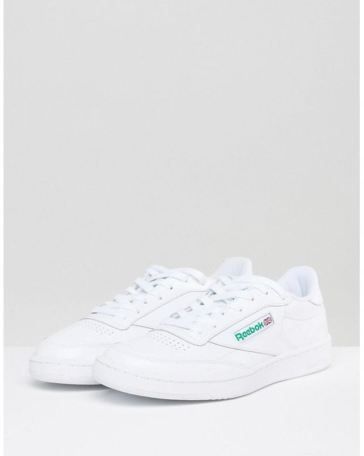 b8e95ecce4bd Reebok Club C 85 Trainers In White Ar0456 in White for Men - Lyst