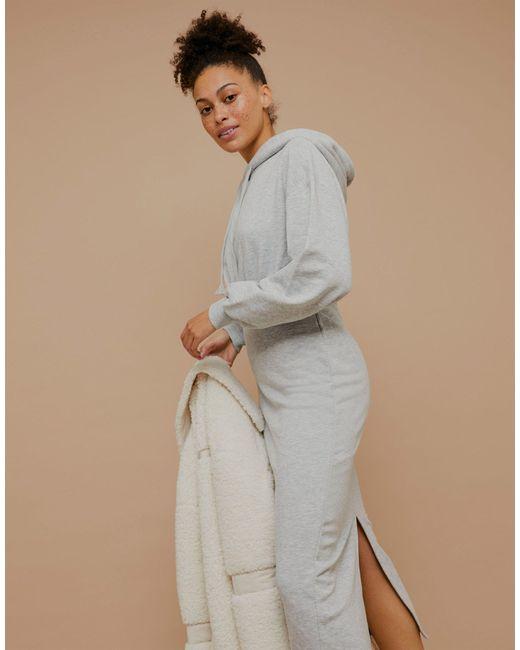 Vestito maglia grigio di TOPSHOP in Gray