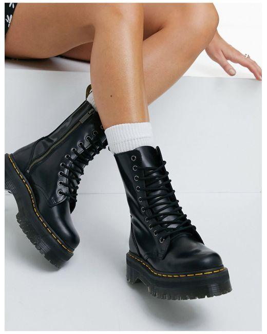 Черные Ботинки Jadon Hi-черный Цвет Dr. Martens, цвет: Black