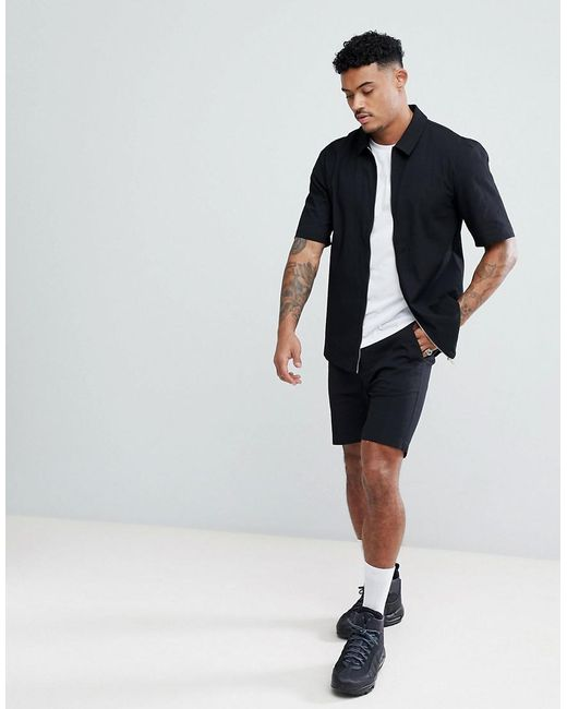 Crepe Shorts - Black Just Junkies GduUellq0u