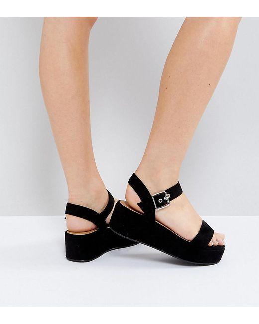 TOUCAN Wide Fit Wedge Sandals cheap sale fashionable explore cheap online shop offer sale online JOIxF6