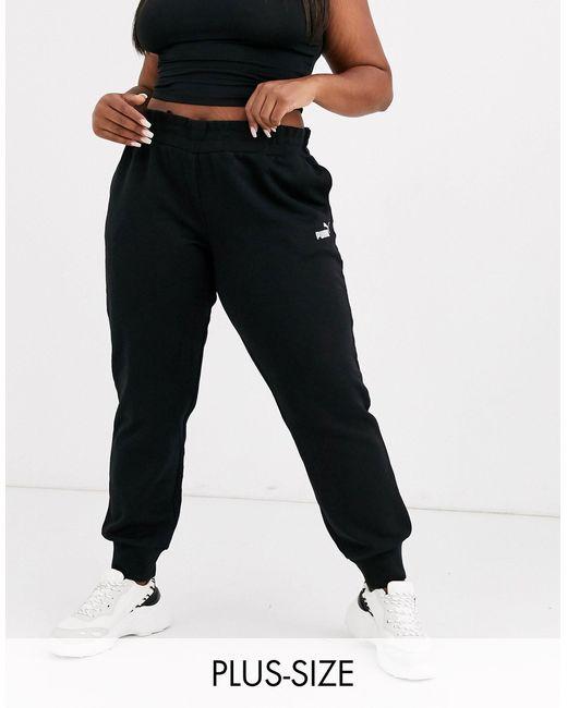 Черные Спортивные Штаны Plus Essentials-черный Цвет PUMA, цвет: Black
