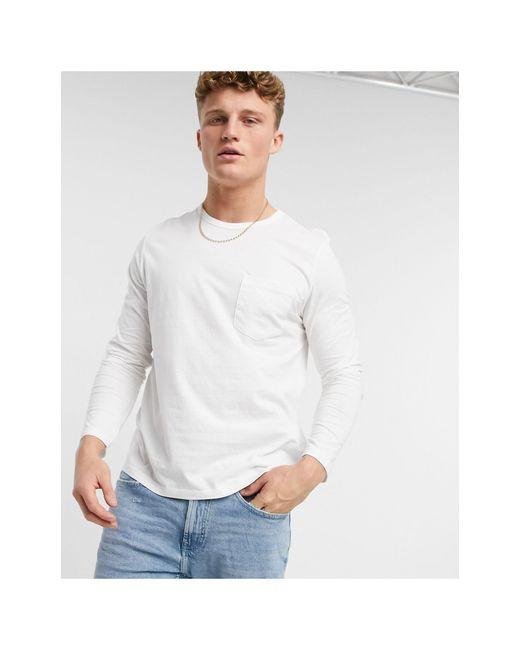 Camiseta blanca Burton de hombre de color Green