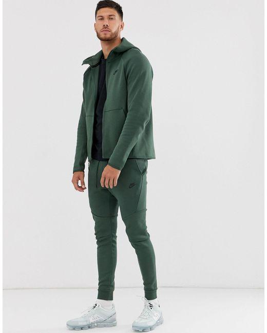 Флисовые Джоггеры Цвета Хаки Tech-зеленый Nike для него, цвет: Green
