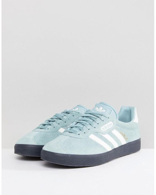 845ce95576ff ... Adidas Originals - Gazelle Sneakers In Green Cq2796 for Men - Lyst ...