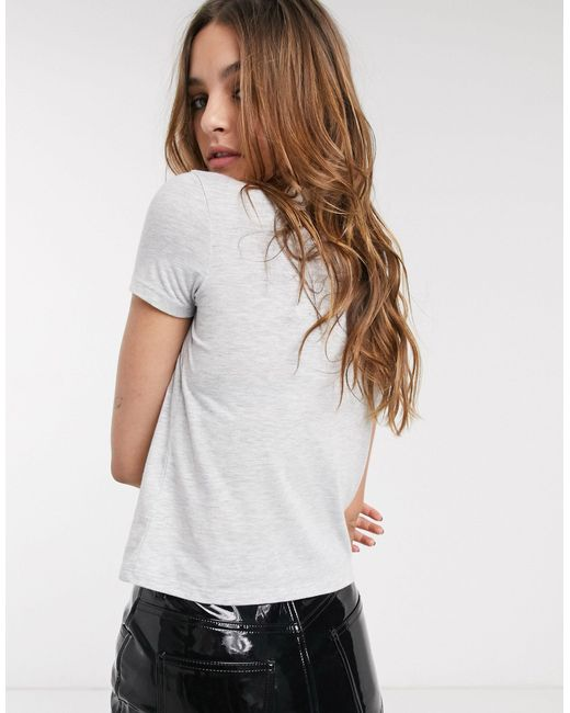 Camiseta con diseño TOPSHOP de color White