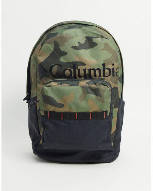Рюкзак Объемом 22 Л С Камуфляжным Принтом Zigzag-зеленый Цвет Columbia для него, цвет: Green