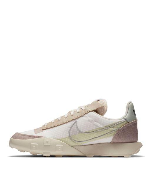 Nike Green Waffle Racer Lx Sneakers