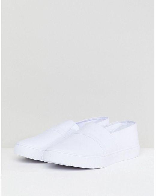 DESIGN Dodger Wide Fit Plimsolls - Grey Asos R4VB0o6Y
