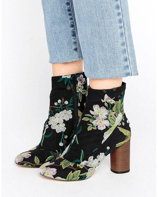 ASOS | Multicolor Emilia Jacquard Ankle Boots | Lyst