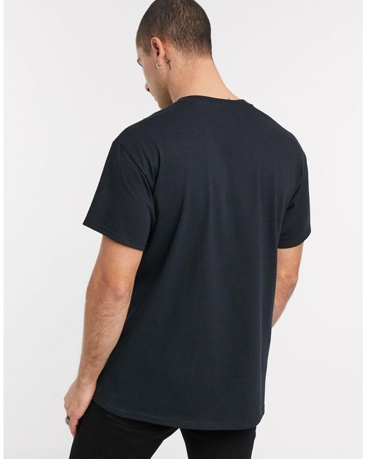 Черная Футболка С Принтом Inspired-черный Reclaimed (vintage) для него, цвет: Black