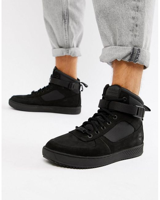 Timberland - City Roam Cupsole Chukka Boots In Black for Men - Lyst